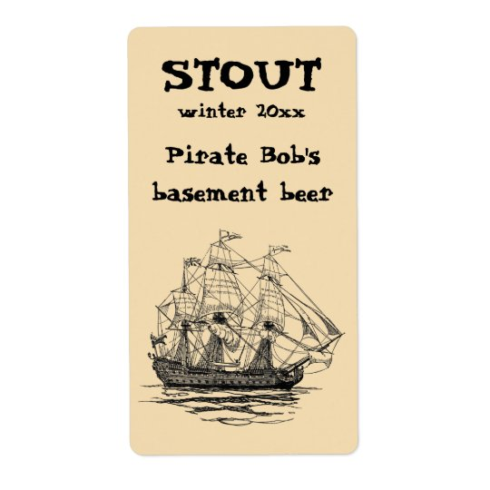 Vintage Pirates Galleon, Sketch of a 74 Gun Ship