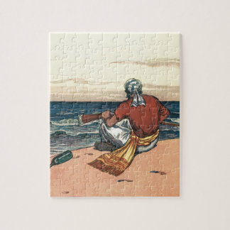 Vintage Pirates, Marooned on a Deserted Island Puzzles