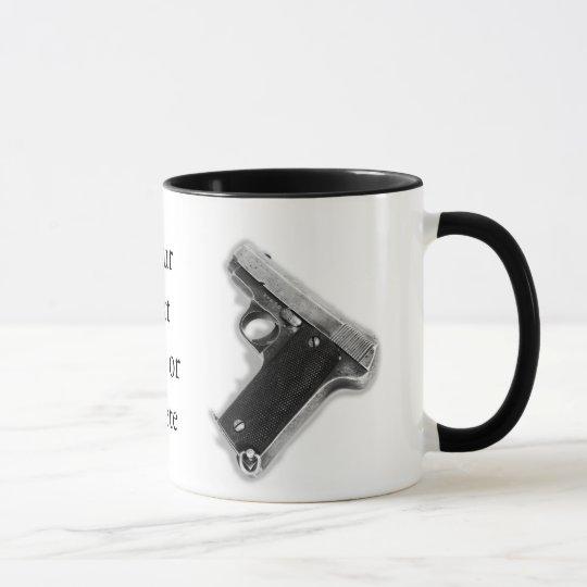 Vintage Pistol Mug