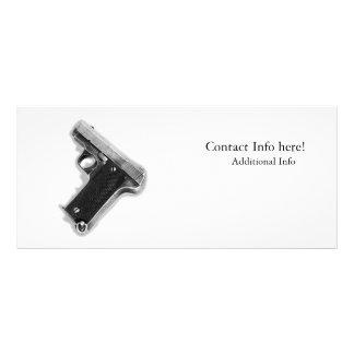 Vintage Pistol Rack Card Design