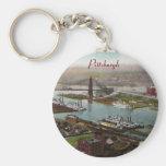 Vintage Pittsburgh 1800s Keychain