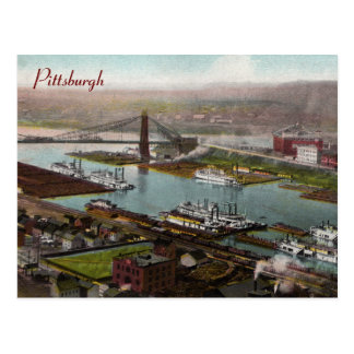Vintage Pittsburgh 1800s  Postcard
