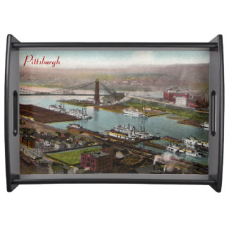 Vintage Pittsburgh 1800s Tray Food Trays
