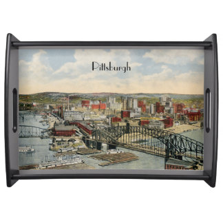 Vintage Pittsburgh 1930s Tray Service Tray