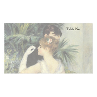 Vintage Place Cards, City Dance by Renoir Pack Of Standard Business Cards