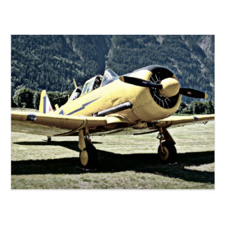 Vintage Plane from Museum Postcard