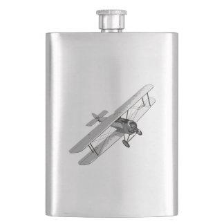 Vintage Plane Hip Flask