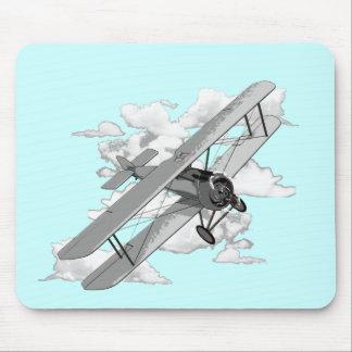 Vintage Plane Mouse Mat