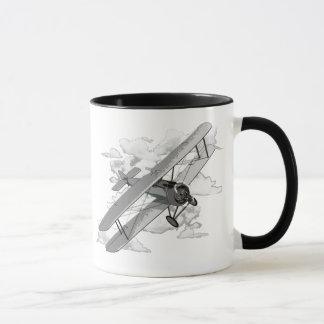 Vintage Plane Mug