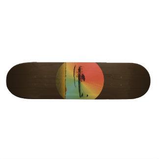 Vintage Plane Skateboard
