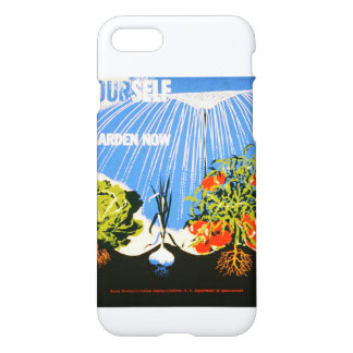 Vintage Plant a Garden Now WPA iPhone 7 Case