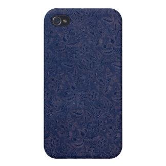 Vintage Plants Blue iPhone 4/4S Cover