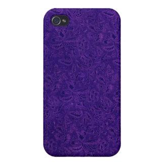 Vintage Plants Purple Grape iPhone 4 Cases