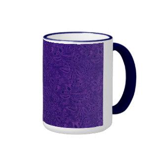 Vintage Plants Purple Grape Ringer Mug