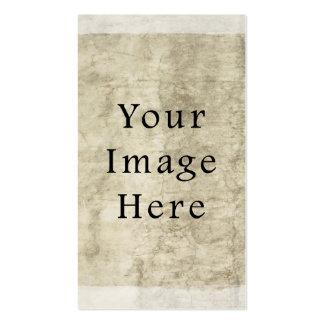 Vintage Plaster Beige Parchment Paper Background Business Cards