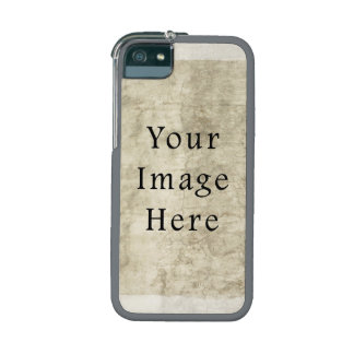 Vintage Plaster Beige Parchment Paper Background Cover For iPhone 5