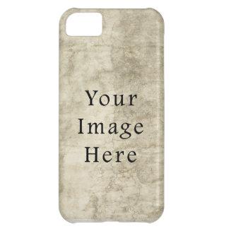 Vintage Plaster Beige Parchment Paper Background iPhone 5C Cases