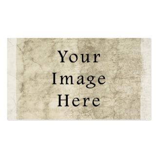 Vintage Plaster Beige Parchment Paper Background Pack Of Standard Business Cards