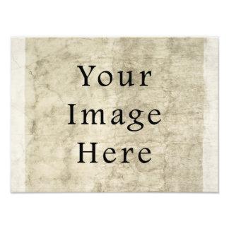 Vintage Plaster Beige Parchment Paper Background Photo Print