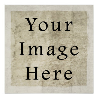 Vintage Plaster Beige Parchment Paper Background Posters
