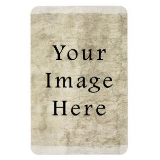 Vintage Plaster Beige Parchment Paper Background Vinyl Magnets