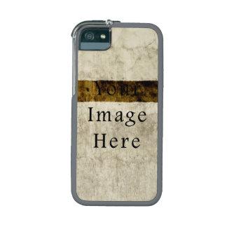 Vintage Plaster Beige Tan Brown Parchment Paper iPhone 5/5S Cases