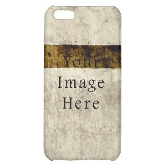 Vintage Plaster Beige Tan Brown Parchment Paper Case For iPhone 5C