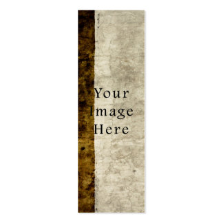 Vintage Plaster Brown Beige Tan Parchment Paper Business Cards
