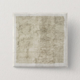 Vintage Plaster or Parchment Background Customized 15 Cm Square Badge