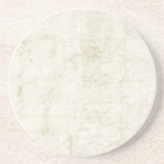 Vintage Plaster or Parchment Background Customized Coasters