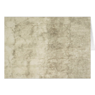 Vintage Plaster or Parchment Background Customized Note Card