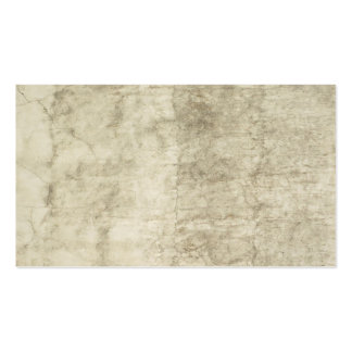 Vintage Plaster or Parchment Background Customized Pack Of Standard Business Cards