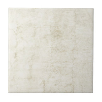Vintage Plaster or Parchment Background Customized Small Square Tile