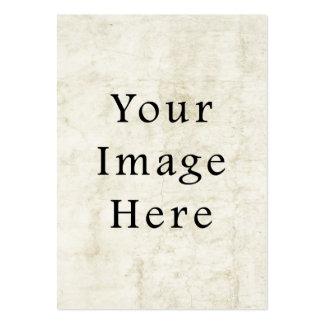 Vintage Plaster White Parchment Paper Background Business Card