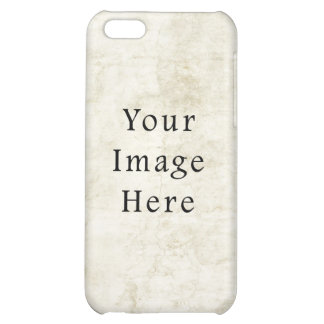 Vintage Plaster White Parchment Paper Background iPhone 5C Covers