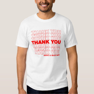 Vintage Plastic Bag T-shirts