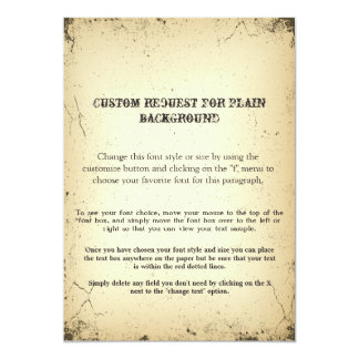 Vintage Playbill Storyline CUSTOM REQUEST text Card