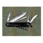 Vintage Pocket Knife Art
