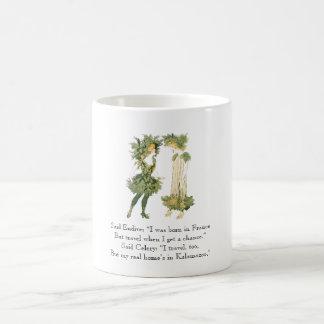 Vintage Poem Endive Celery Rhyme Cute Girls Coffee Mug