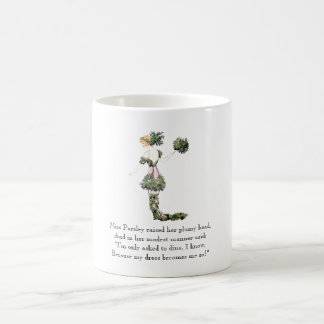 Vintage Poem Miss Parsley Rhyme Cute Vegetable Coffee Mug