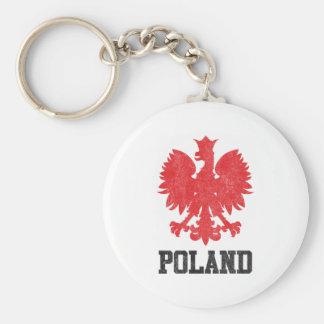 Vintage Poland Key Ring