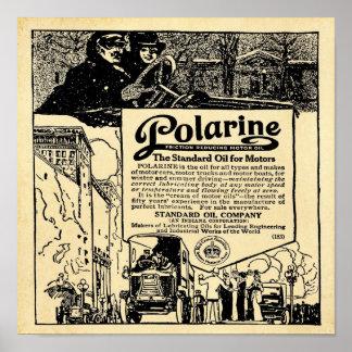 Vintage Polarine Motor Oil Print