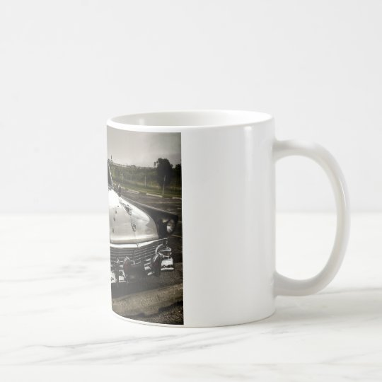 Vintage Police Car Coffee Mug