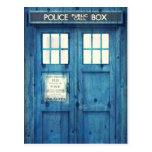 Vintage Police phone Public Call Box