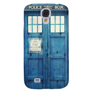 Vintage Police phone Public Call Box Galaxy S4 Case