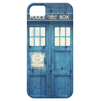 Vintage Police phone Public Call Box iPhone 5 Case