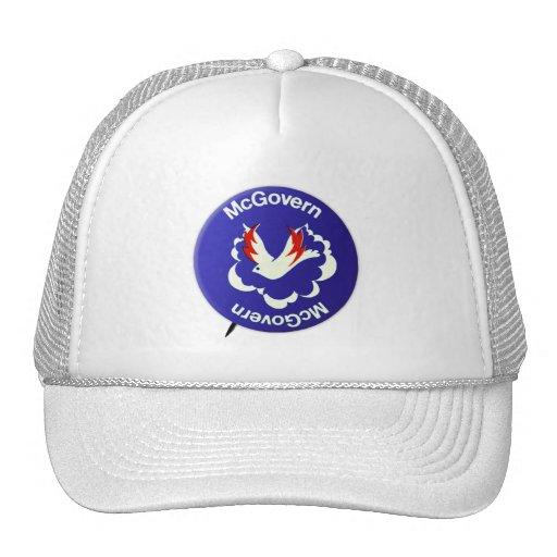 Vintage Politics McGovern For President Button Mesh Hat