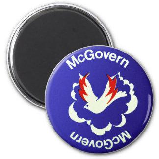 Vintage Politics McGovern For President Button Fridge Magnets