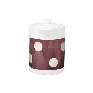 Vintage polka dots prune white retro fun hipster