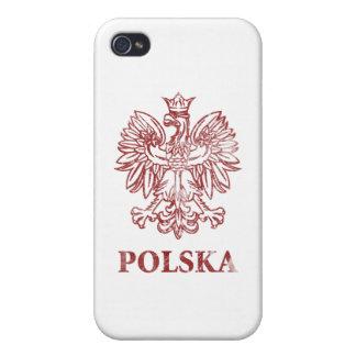 Vintage Polska iPhone 4/4S Cover